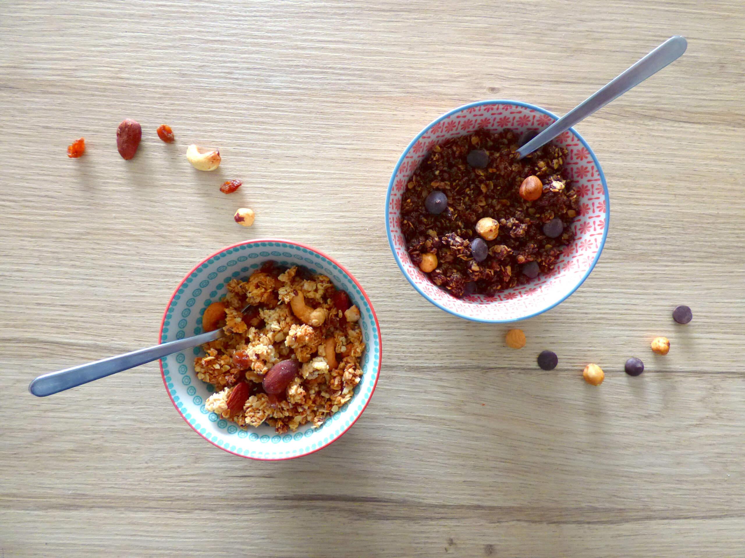 Réaliser votre granola pour le petit déjeuner